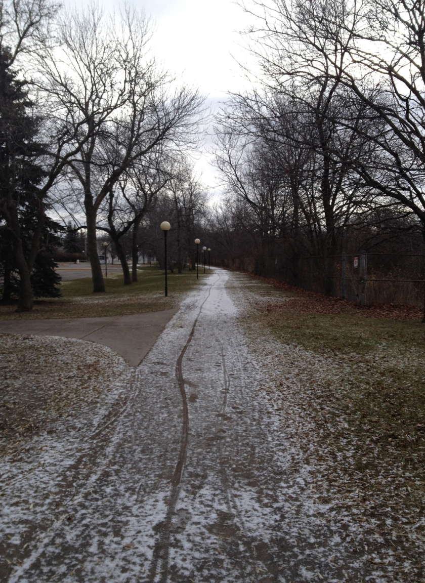 Path south of  the Queensway