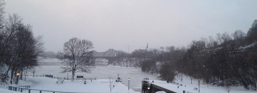 View towards Ottawa River