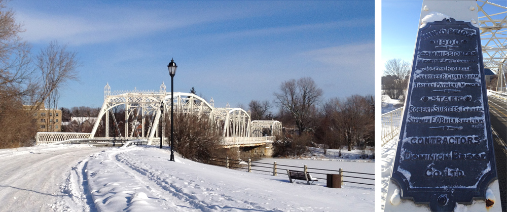 White Minto Bridge