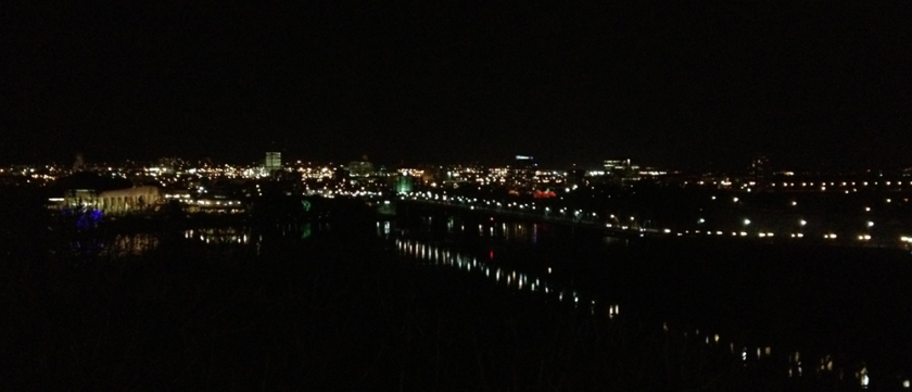 View across the Ottawa River to Gatineau