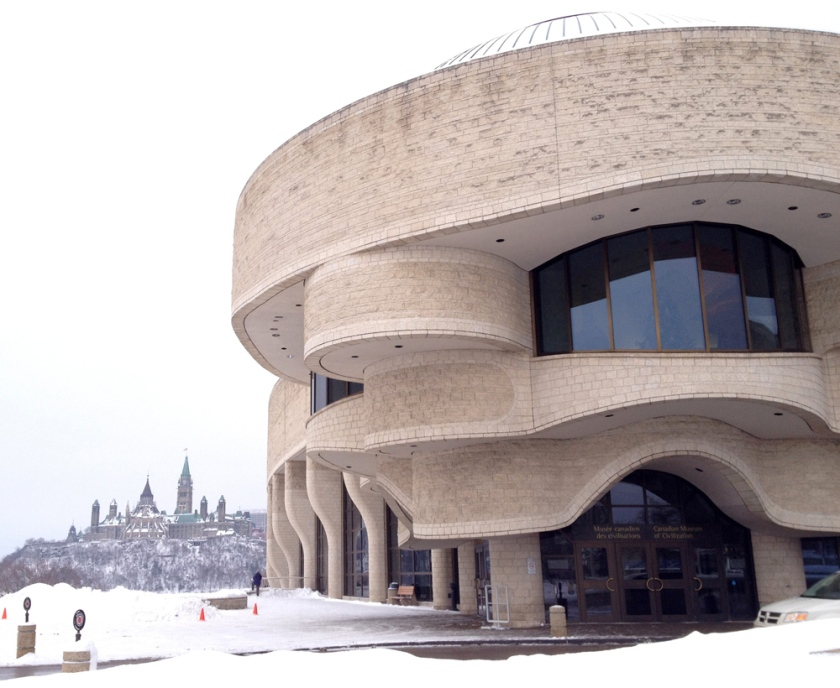Entrance to the Canadian Museum of Civilization