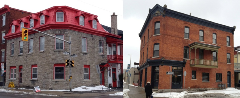 Good old buildings along Dalhousie