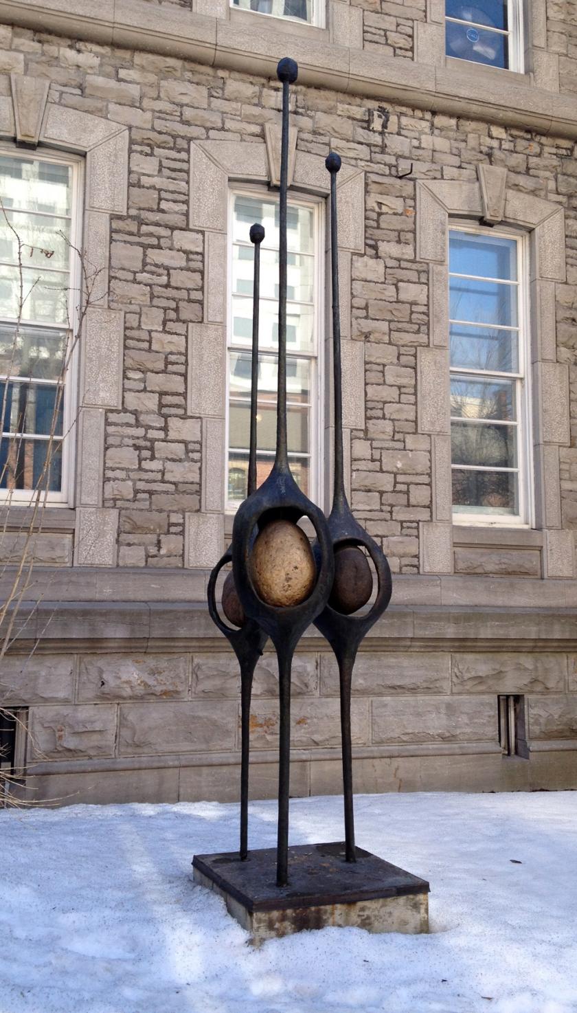 Outside Arts Court