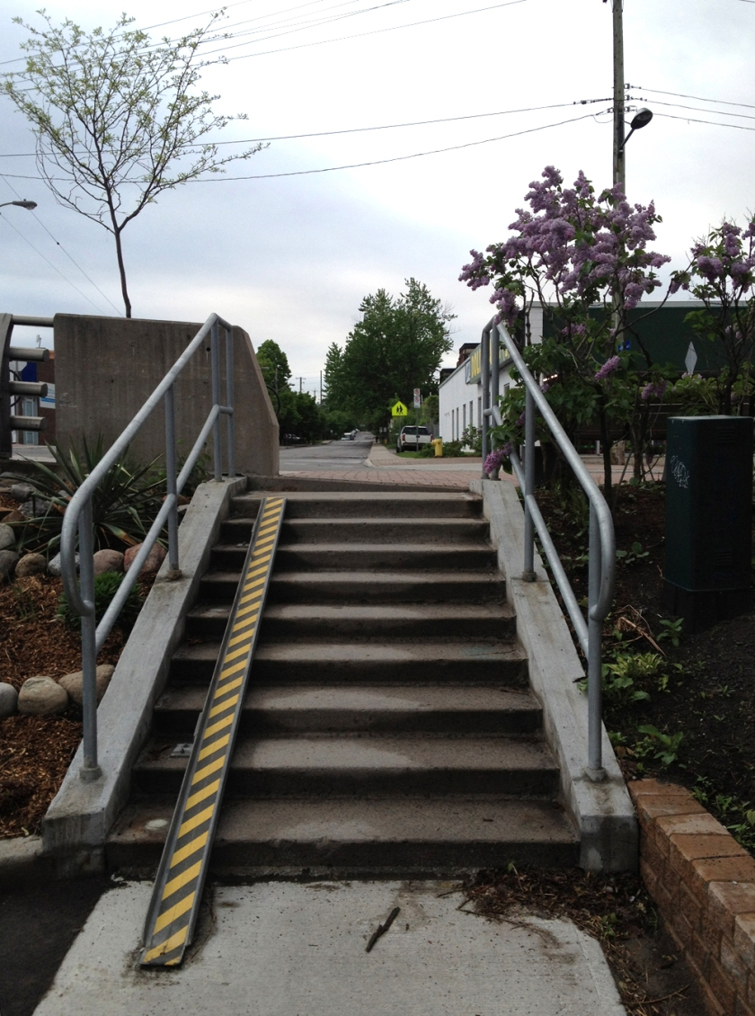 Ramp at Breezehill