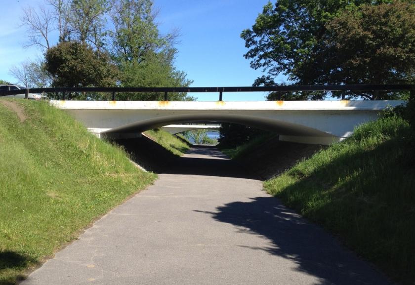 Parkway underpass