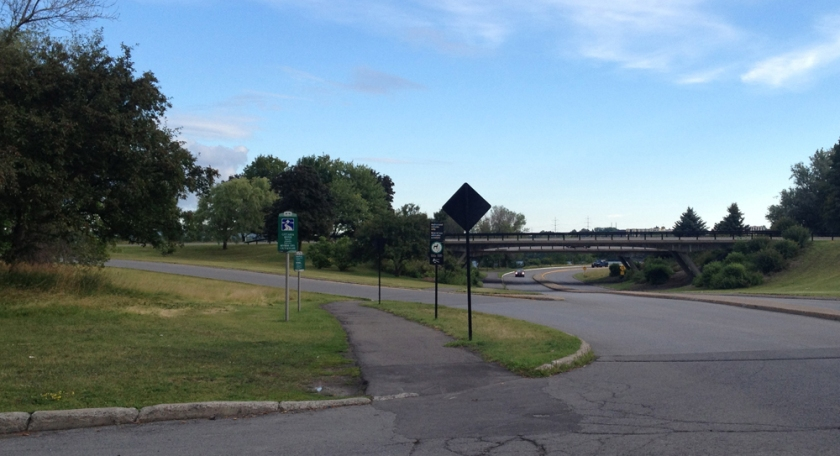Where Parkdale meets the Ottawa River Pathway