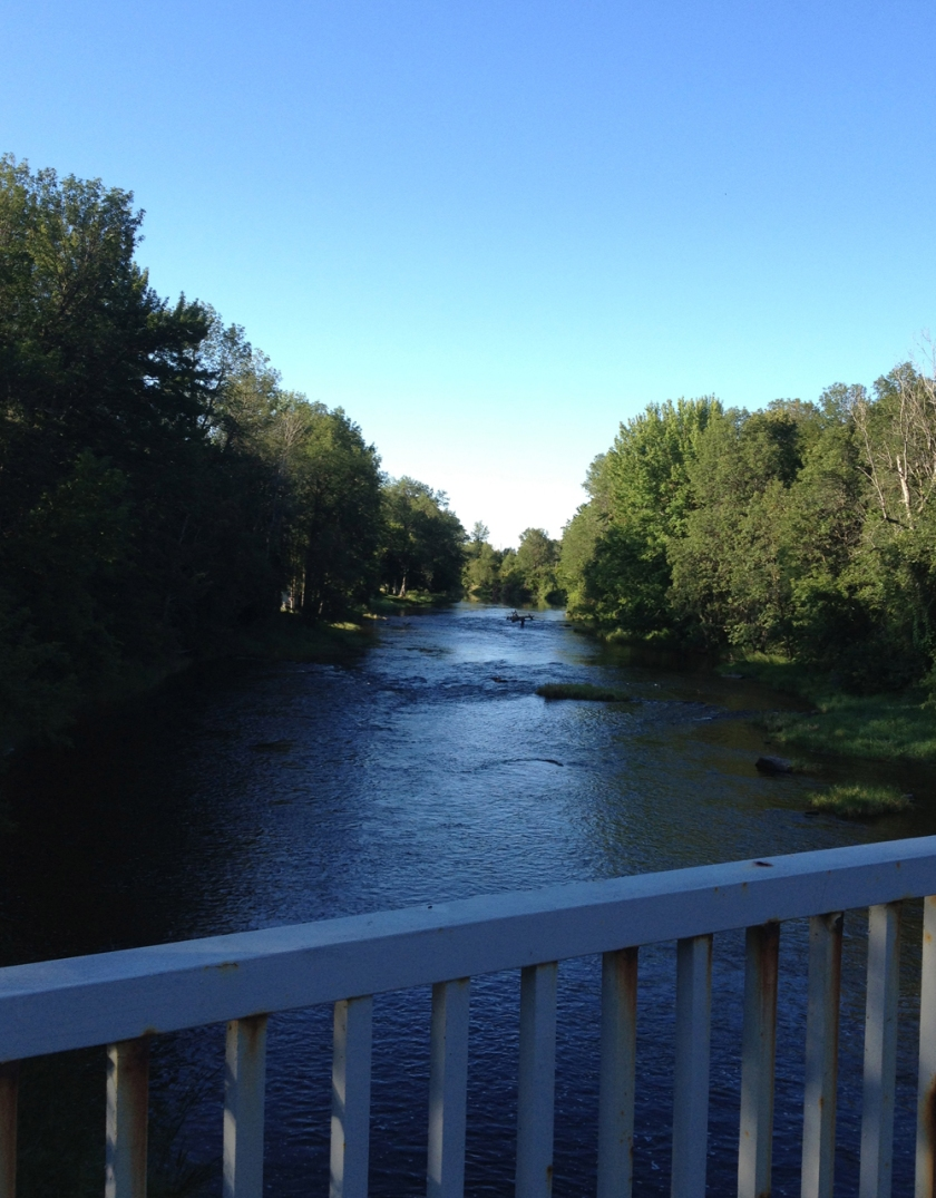 Rideau River from Barnsdale Road bridge