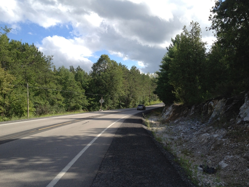 Route 12 South of Lanark