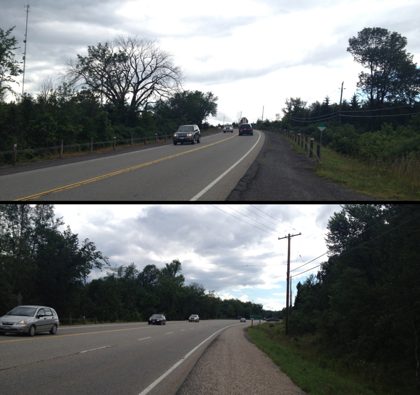 4km stretch along the Trans-Canada Highway between Carleton Place and Tatlock Road