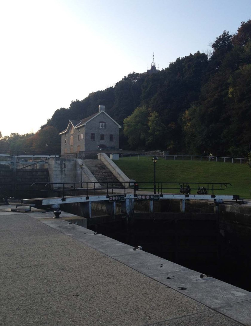 The locks to cross