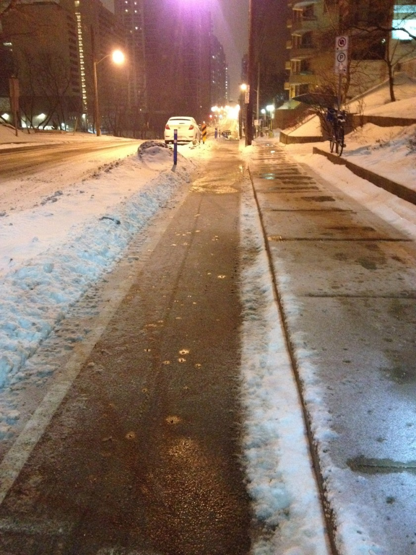 Laurier Bike Lane