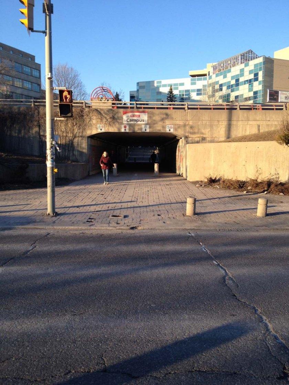 Underpass to Ottawa U