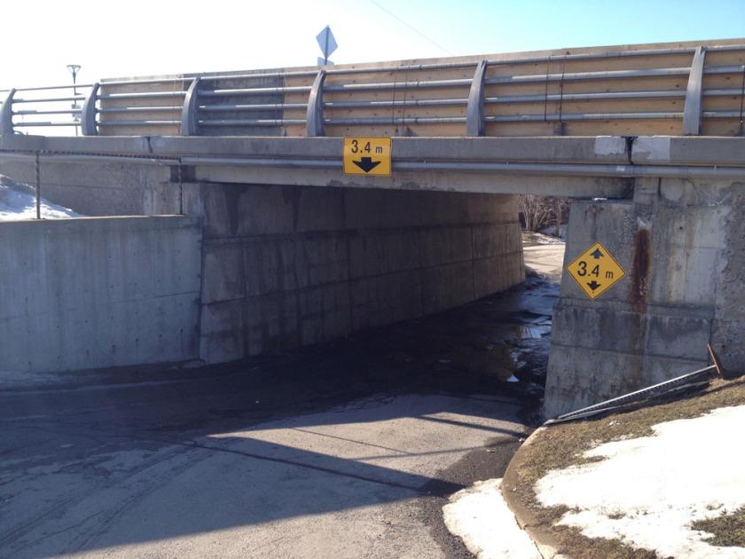 Somerset bridge underpass