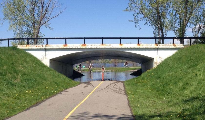 Pathway underpass