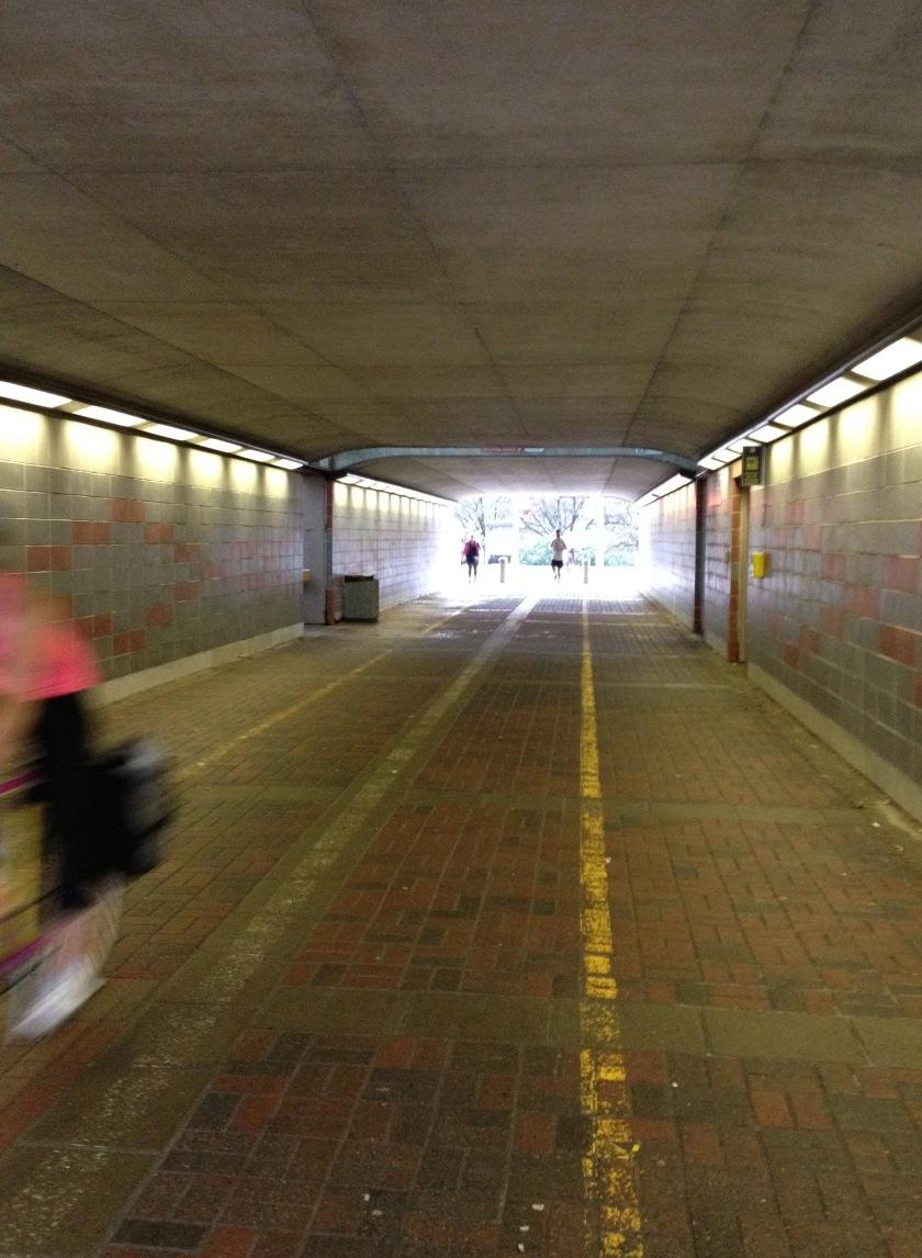 Pedestrian & bike Nicholas St underpass