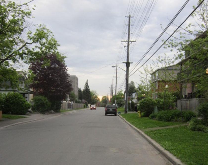 Presland Road - nice quiet street.