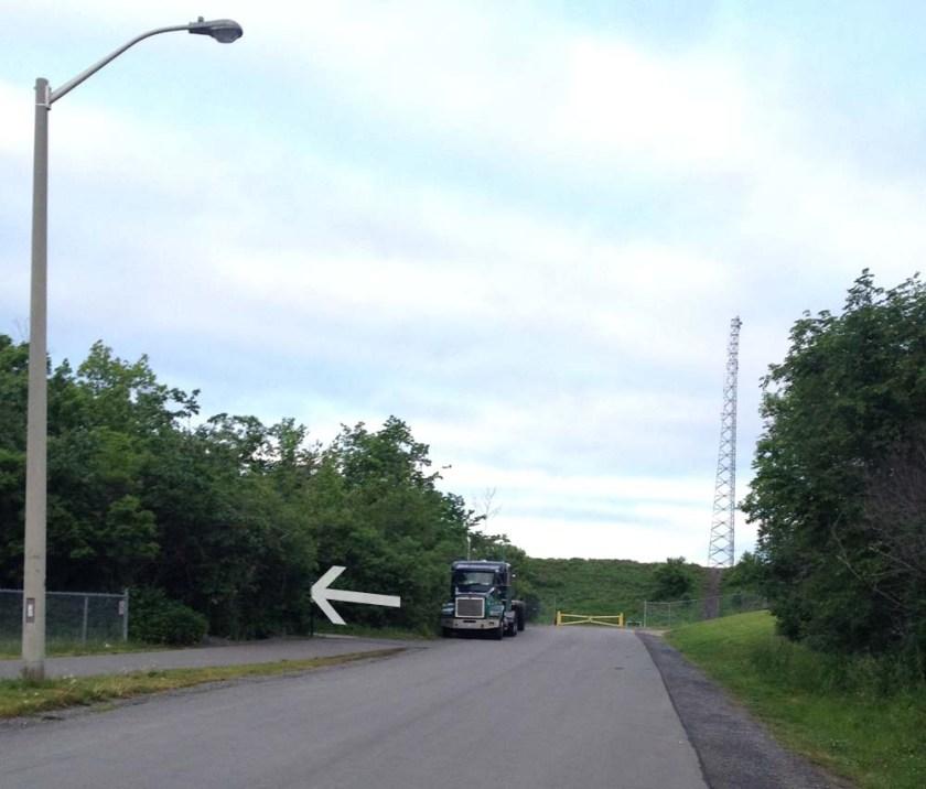 Bike path link along Morisset Avenue