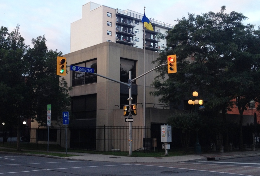 Ukrainian Embassy - 310 Somerset Street West