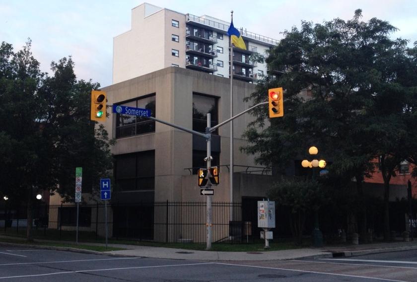 Ukrainian Embassy - 310 Somerset Street West