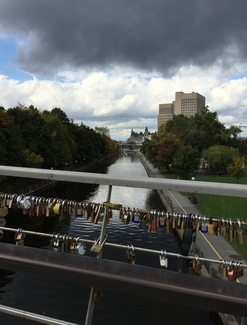 Love Locks over the Rideau Canal