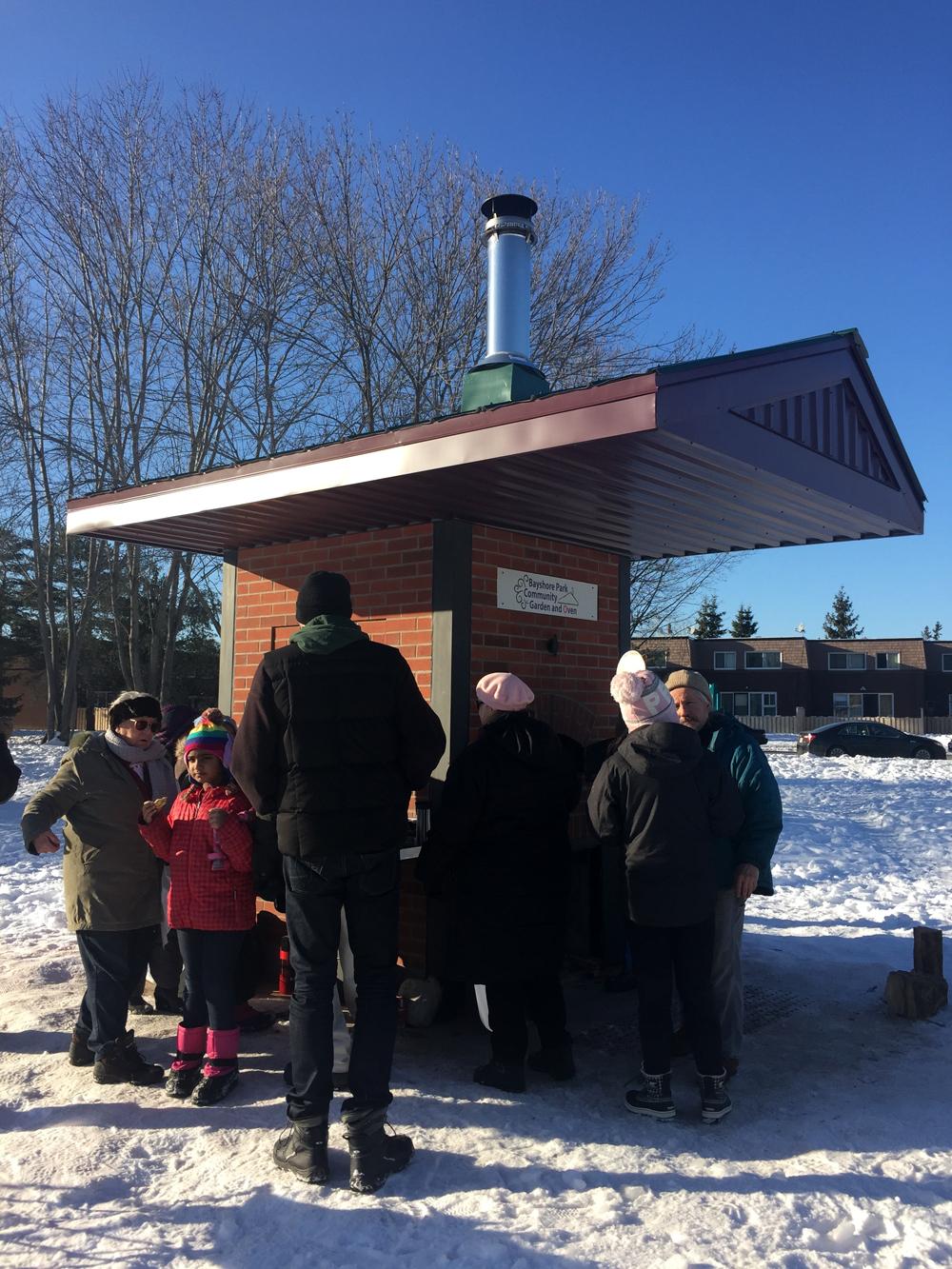 Bayshore Park Community Oven