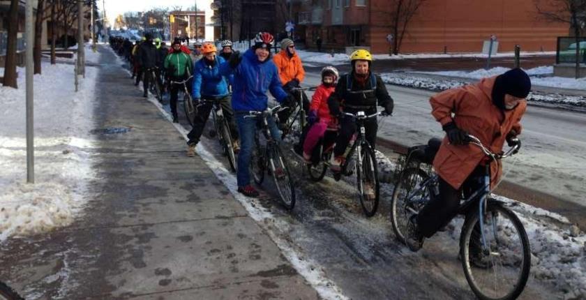 The 4th Annual Winter Bike Parade! - Photo : Hans Moor