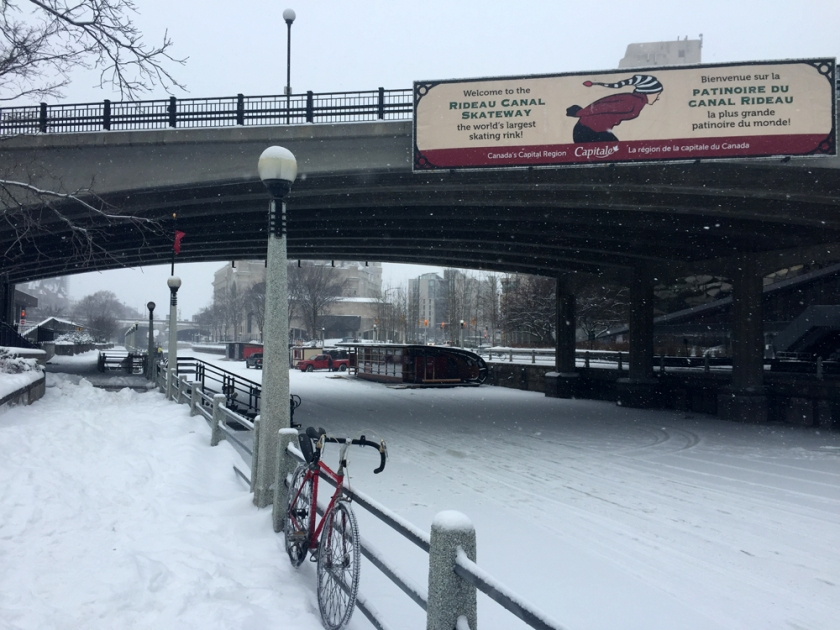 Rideau Canal Access point at Confederation Park