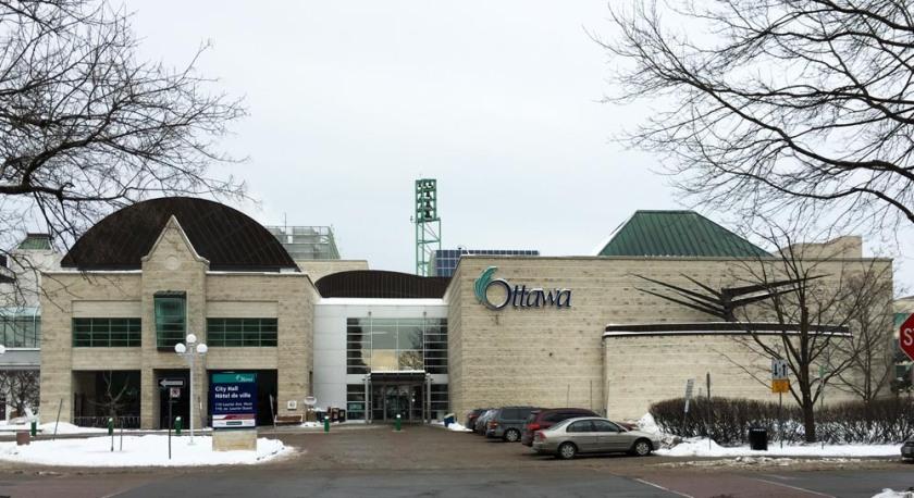 Ottawa City Hall south entrance