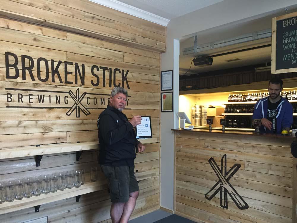 Inside the Broken Stick