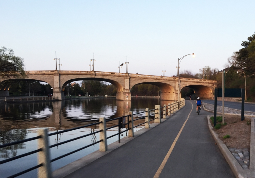 The Rideau Canal Eastern Pathway