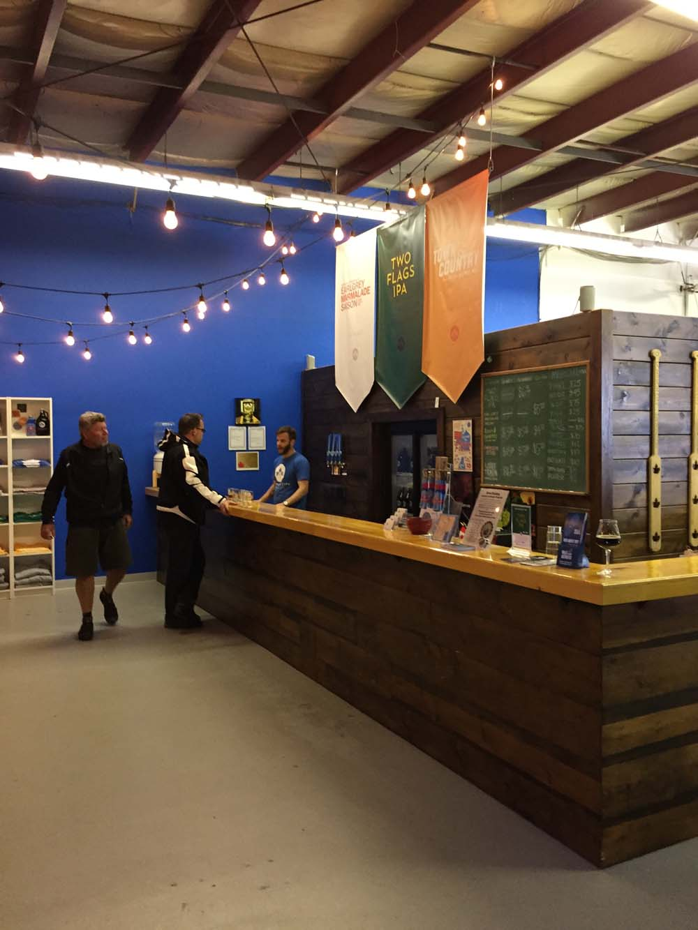 ... and inside the Dominion City Brewing Co.
