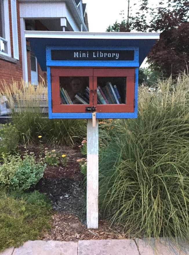 Mini Library at Christie & Cambridge St N