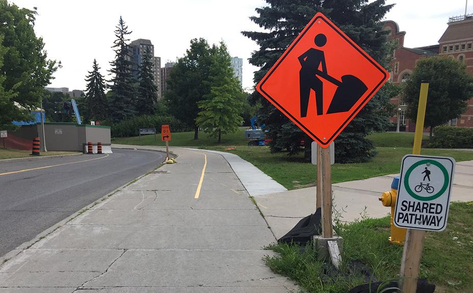 3 - sidewalk to MUP